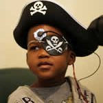 Child with Pirate Hat