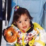 A Child with a Bagel
